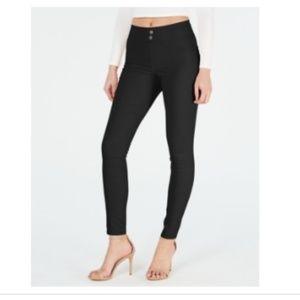 Hue Original Smoothing Denim Leggings Black Large